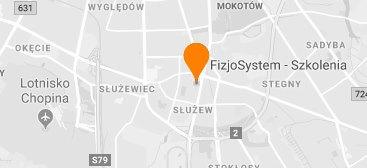 lokalizacja placówki szkoleniowej Fizjosystem